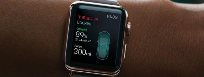 Tesla per Apple Watch
