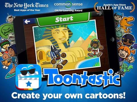 L'applicazione Toontastic di Launchpad Toys è ora disponibile gratuitamente su App Store