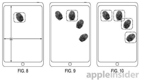 Touch ID a schermo