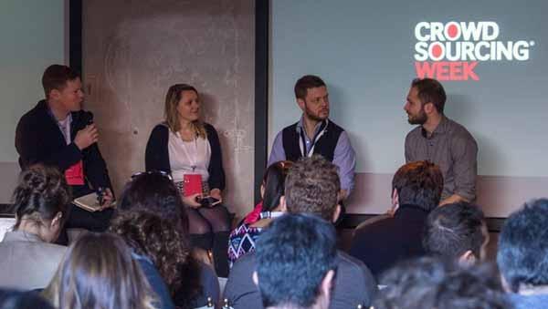 Il panel sulla mobilità in crowdsourcing. Da sinistra: