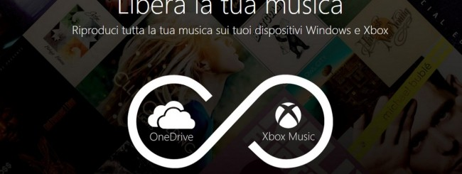 OneDrive + Xbox Music