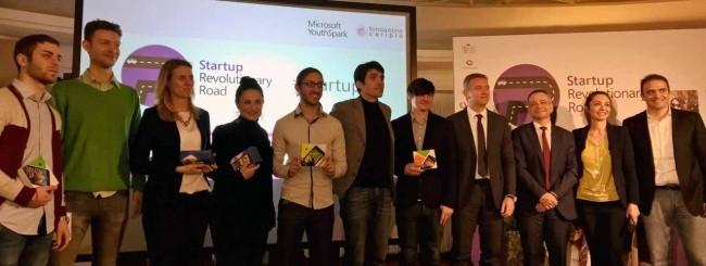 Startup Revolutionary Road - premiazione