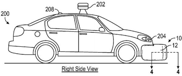 Il brevetto di Google per dotare la propria vettura a guida autonoma di airbag esterni
