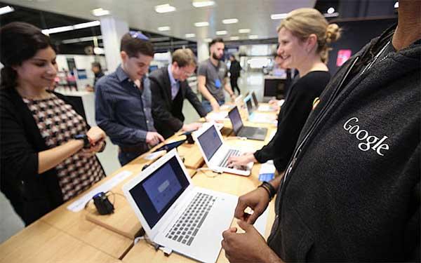 Il primo negozio di Google, inaugurato a Londra