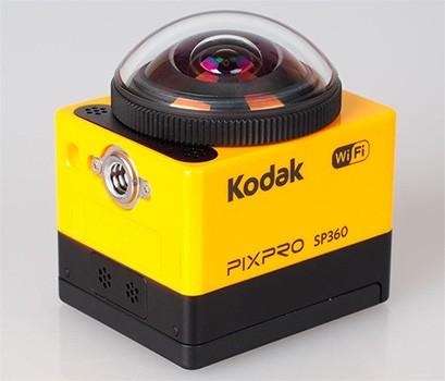 Kodak Pixpro SP360 registra video a 360 gradi