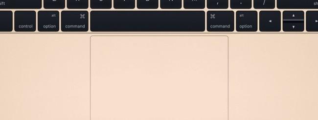 MacBook, trackpad