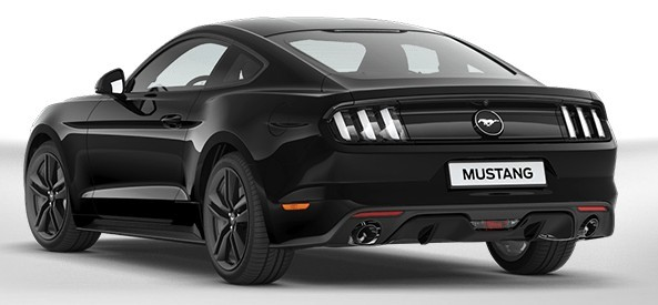 Ford Mustang sul configuratore online