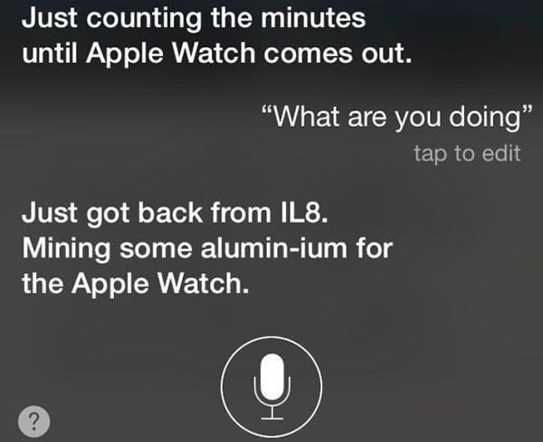 Siri e Apple Watch