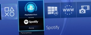 Spotify su PlayStation Music, le immagini