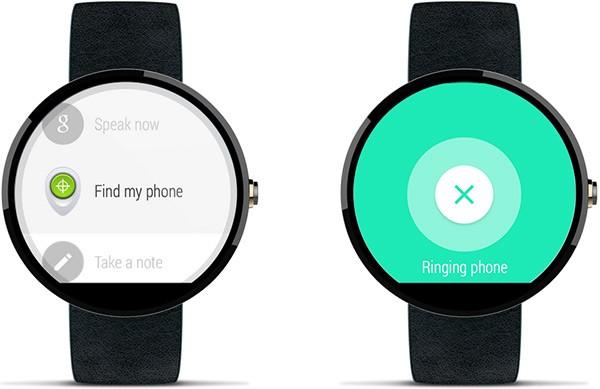 Gli smartphone per i quali è stata attivata la funzionalità Gestione Dispositivi Android possono essere rintracciati mediante uno smartwatch Android Wear