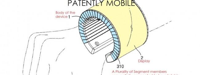 Brevetto Samsung - smartphone da polso