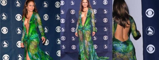 Jungle dress Versace Lopez