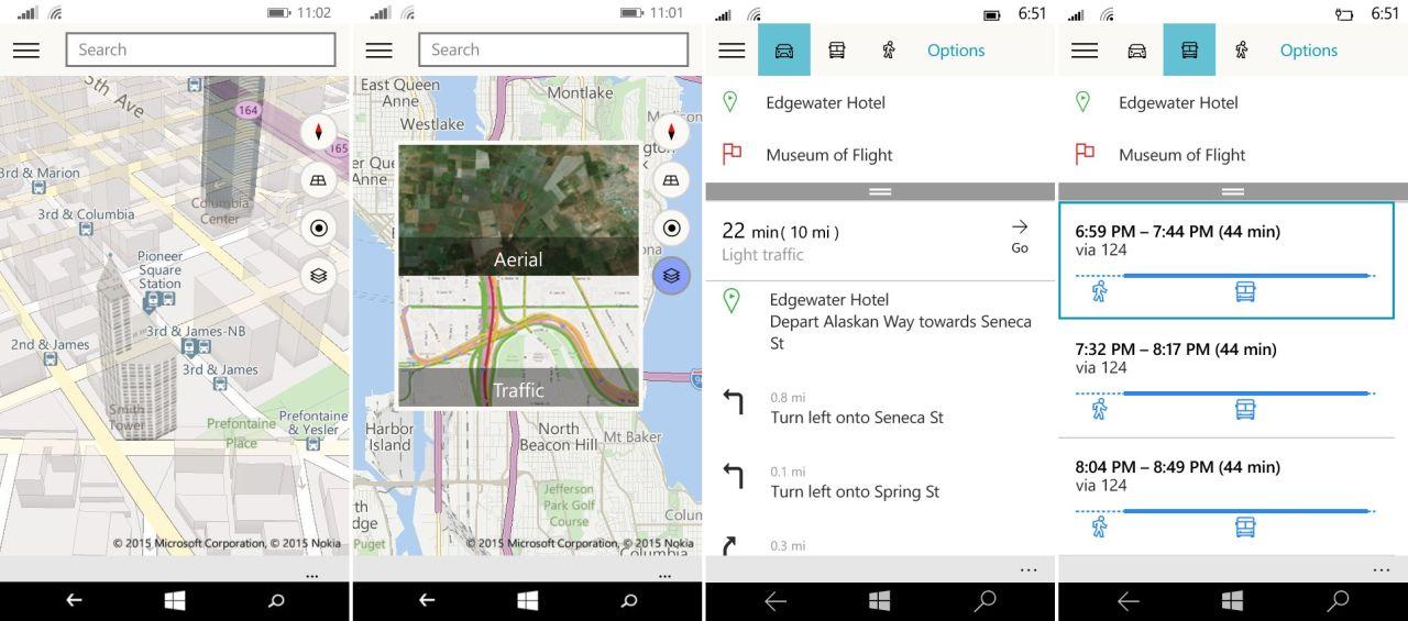 Maps per Windows 10 combina Bing e HERE Maps | Webnews
