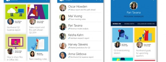 Office Delve per Android