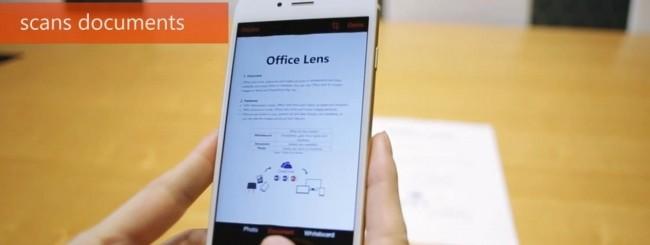 Office Lens per iOS