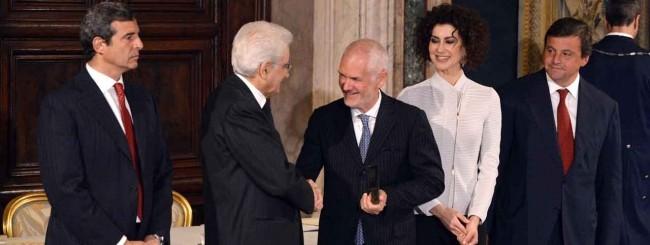 Quirinale - premiazione di Ennova per Premio Leonardo