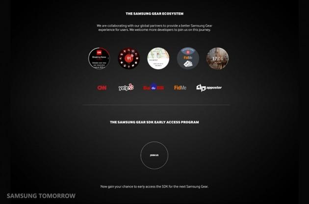 Samsung Gear SDK