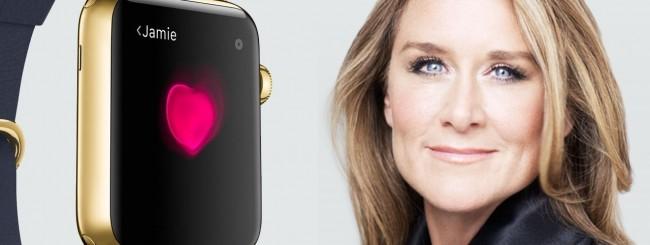 Angela Ahrendts e Apple Watch