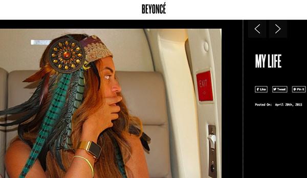 Apple Watch di Beyoncé