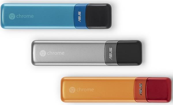 Chromebit, il micro-computer HDMI di ASUS, basato sul sistema operativo Chrome OS e da connettere alla TV
