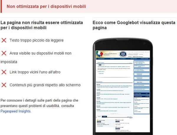 Test di compatibilità con dispositivi mobili: www.cnel.it