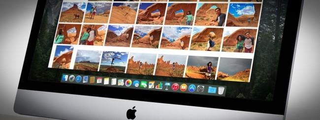 Foto, OS X Yosemite