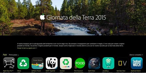 Giornata della Terra su App Store