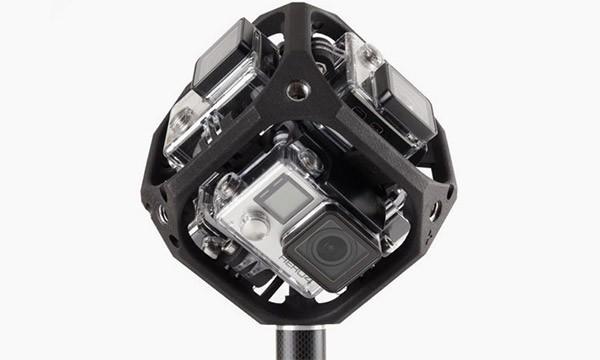 Il prototipo di action camera sferica di GoPro