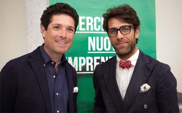 Matteo Marzotto e Cristiano Seganfreddo rispettivamente Presidente e Direttore Generale di Associazione Progetto Marzotto.