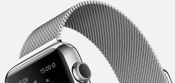 Cinturino Apple Watch in maglia milanese