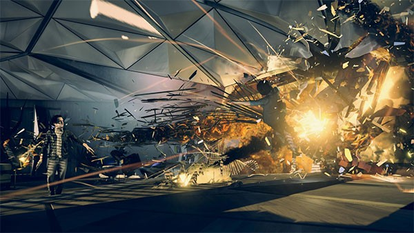 Screenshot per Quantum Break
