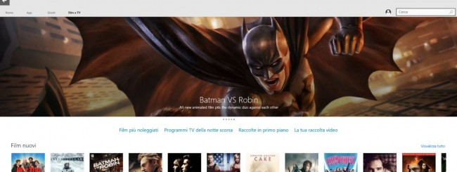 Windows 10 Film e TV