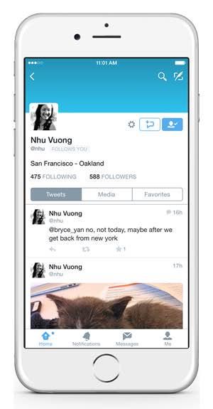 Twitter, nuove funzionalità dei messaggi diretti