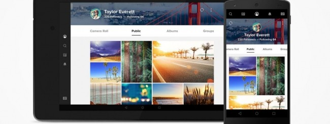 Flickr per Android
