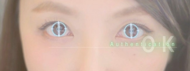 Iris scanner Fujitsu