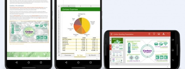 Offic Preview per Android phone