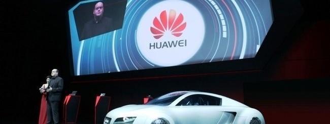 Partnership Huawei con Audi