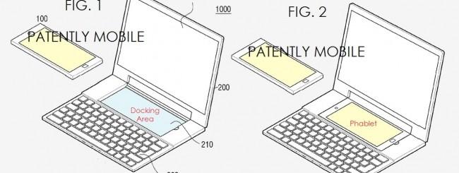 Samsung laptop-phablet dual OS