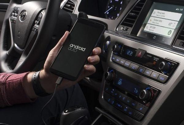 Il sistema di infotainment Android Auto sulla Hyundai Sonata