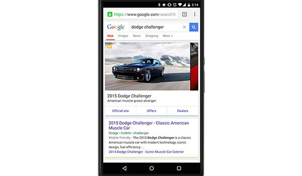 Il nuovo format dell'advertising mobile dedicato alle inserzioni automotive