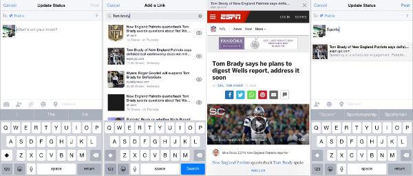 Facebook, un motore di ricerca per le app mobile