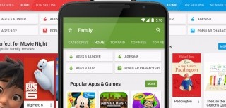 Google Play Family Store