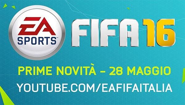 L'immagine condivisa su Facebook dal profilo ufficiale di EA Sports FIFA Italia