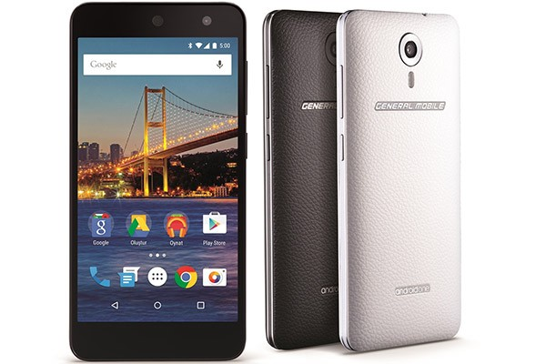 Lo smartphone Android One proposto da General Mobile in Turchia