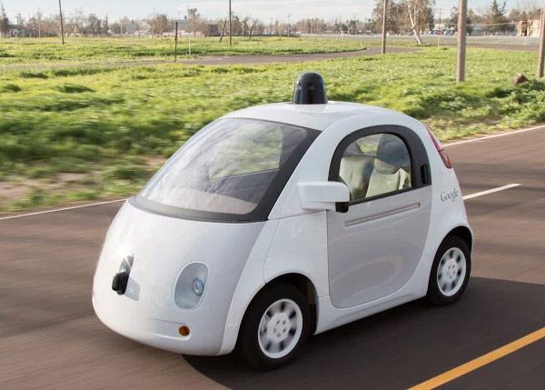 La vettura a guida autonoma di Google