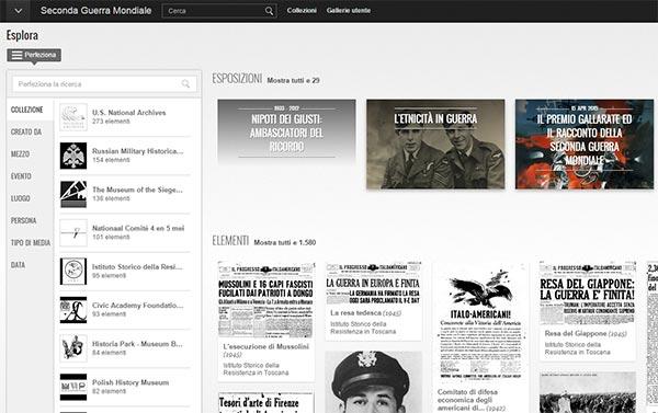 L'archivio del Google Cultural Institute sulla Seconda Guerra Mondiale