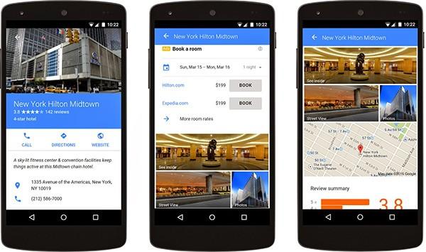 Lo strumento di Google per la comparazione dei prezzi degli hotel