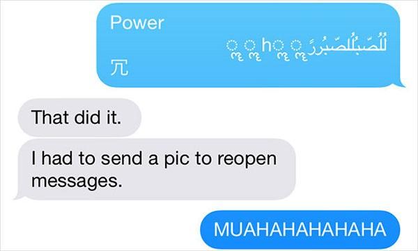 iOS, bug dei messaggi