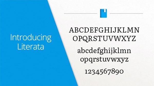 Literata è il nuovo font introdotto da Google per la piattaforma Play Libri