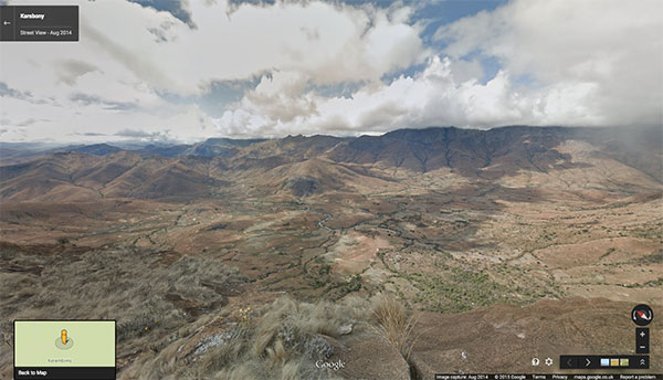 Il Karambony (Madagascar) su Google Street View